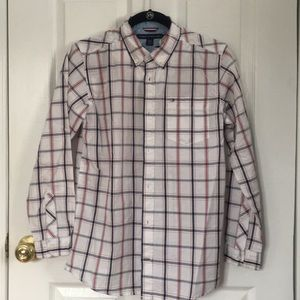 TOMMY HILFIGER BOYS BUTTON DOWN SHIRT
